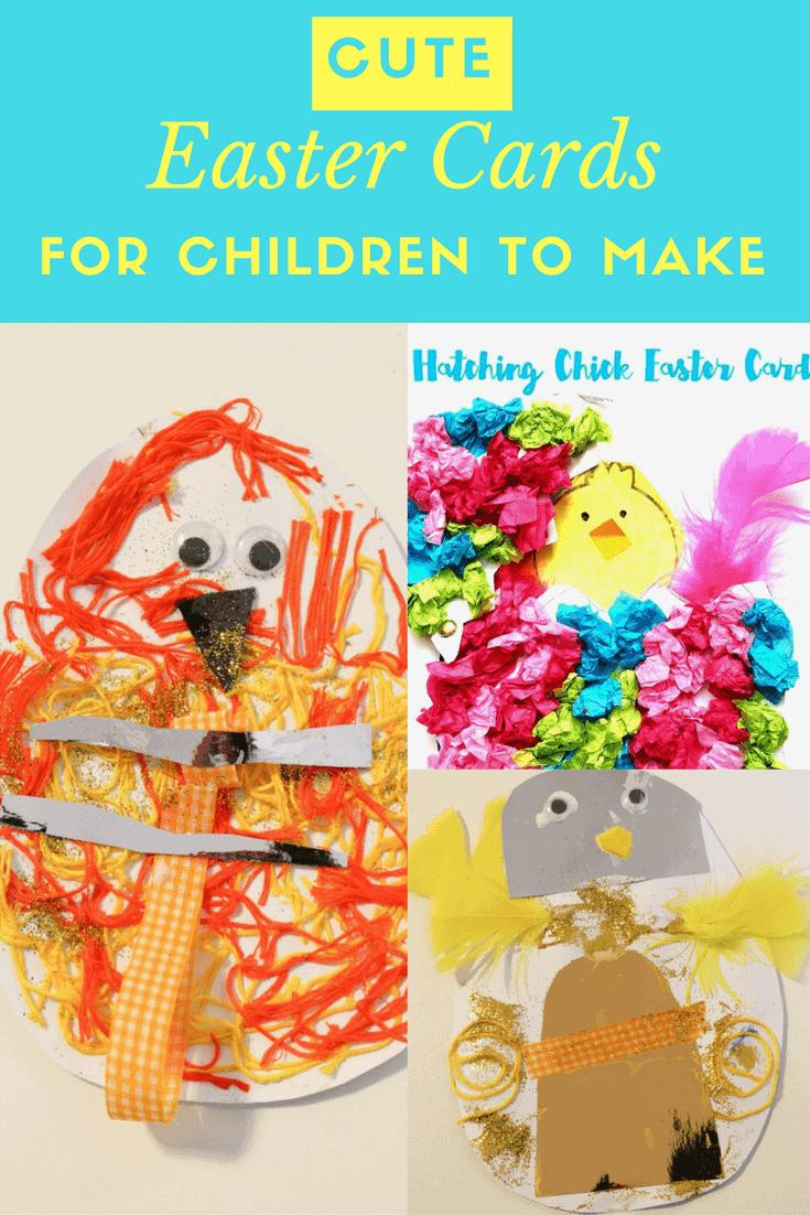 Easter Cards For Children To Make Easter Crafts For Kids Easter