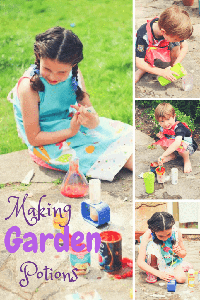 Making Garden Potions. Science Experiments for Kids
