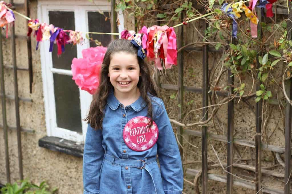 pink pamper party 8 year old birthday