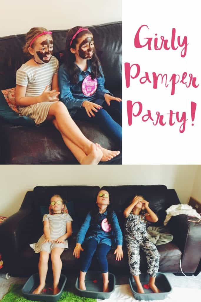 How to organise a girly pamper party for a birthday treat