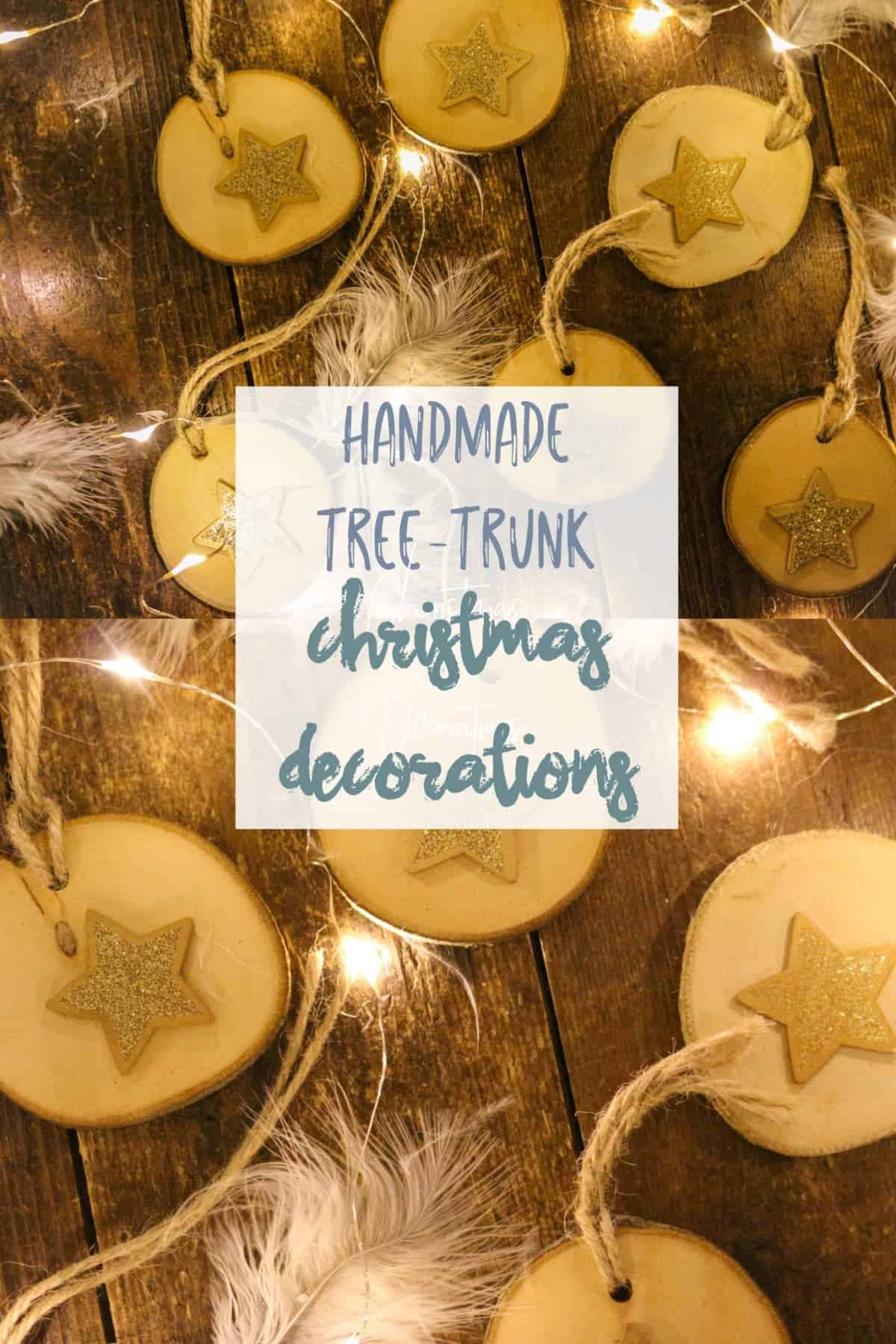 Handmade Christmas star DIY Decorations