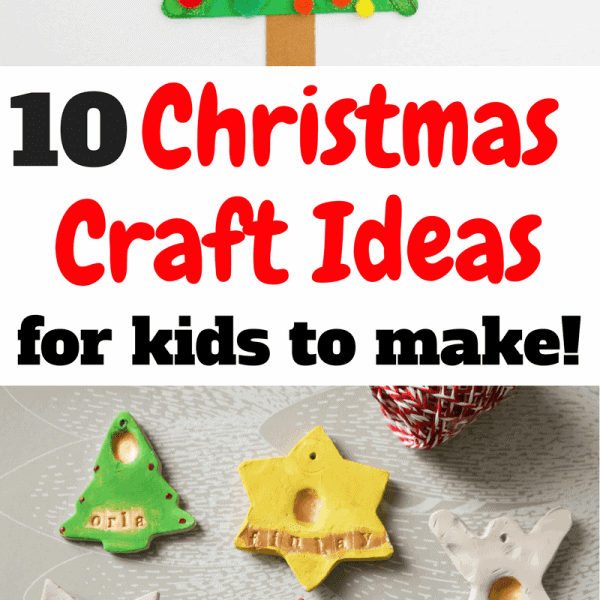 Easy Christmas Craft ideas for kids to make.