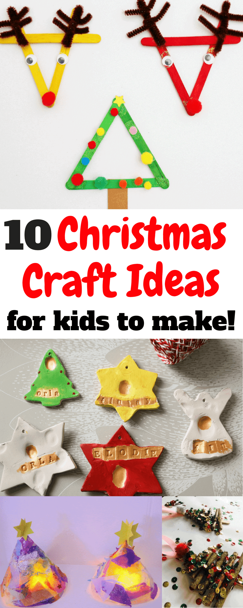 Crafts for children in the Christmas Holidays! Christmas ...