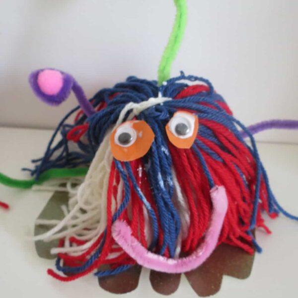 Space Craft Woolly Bug Alien