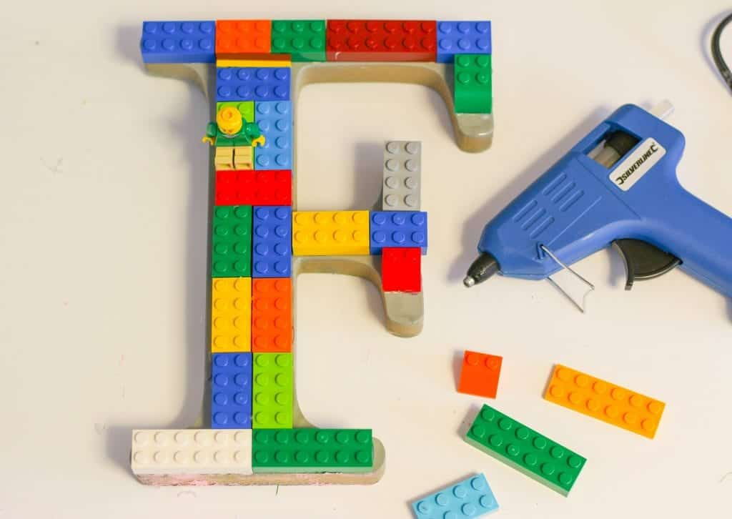 DIY letters for children's rooms. Kids room decor