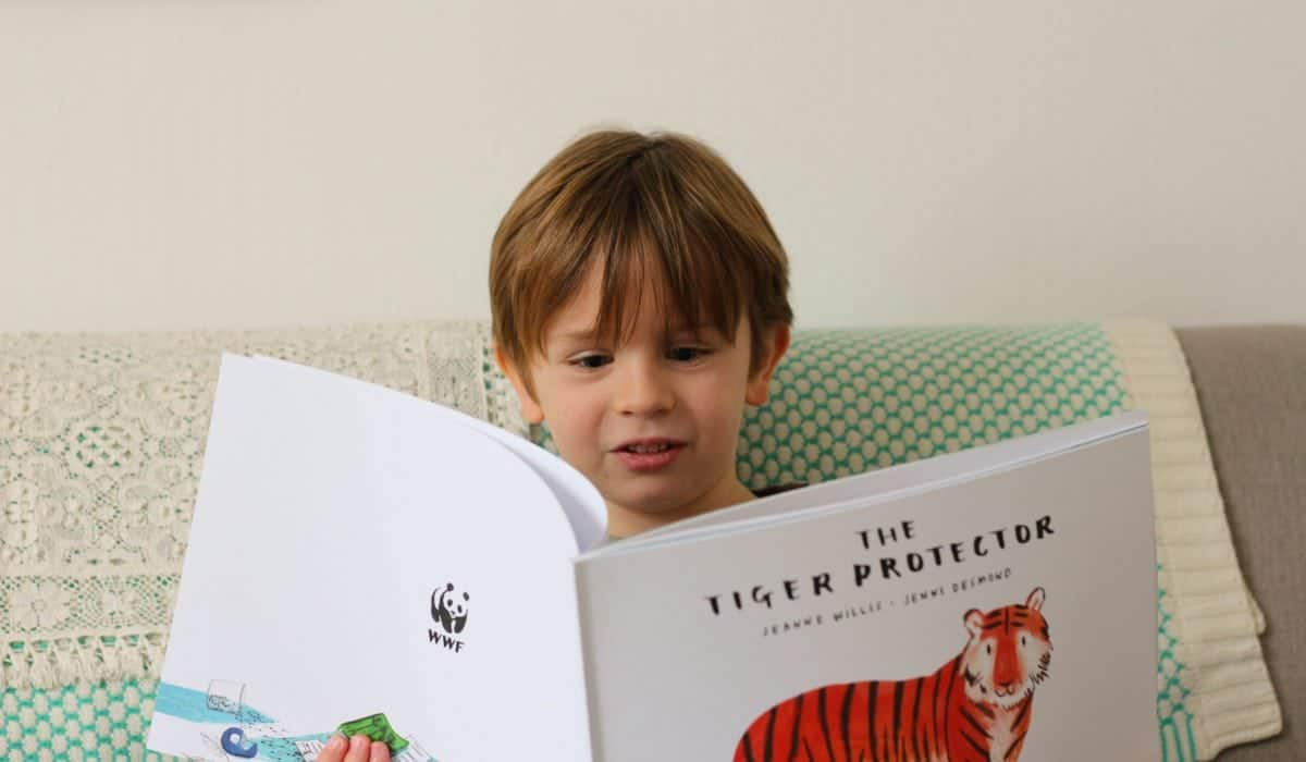 The Tiger Protector Book WWF