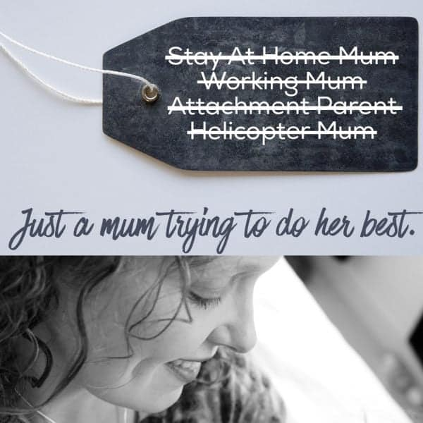 Why I'm fed up with parenting labels, mummy labels and baby labels