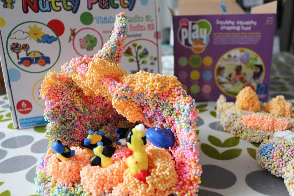 Nutty Putty Review Play Foam Review. Best Creative Art Materials for kids