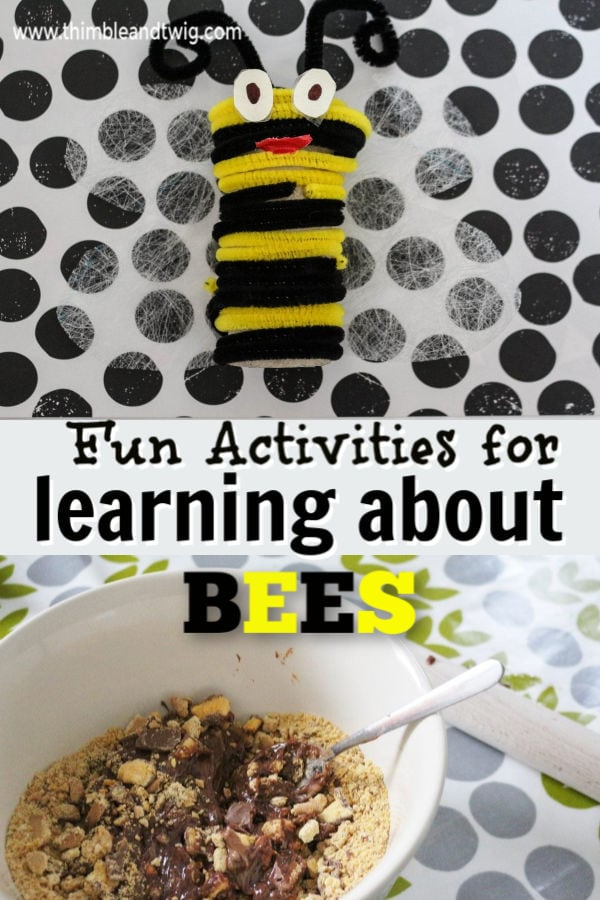 Fun bee crafts and recipes
