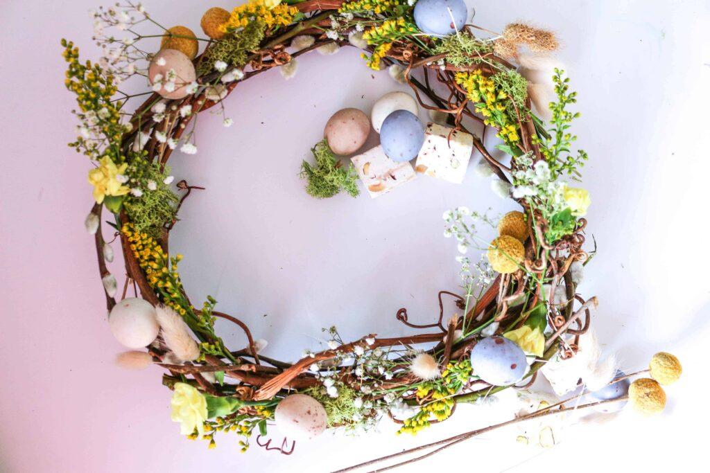 Spring Easter Wreath