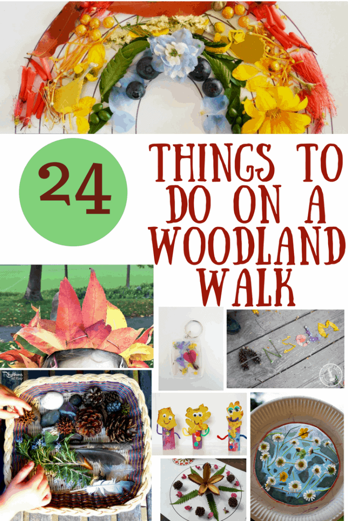 looking for ways to inspire your kids to get outside and delve into nature. Check out these 24 things to do which are fun, cheap and easy to do! Nature inspired activities and printables
