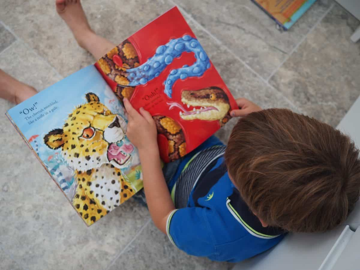 Books for children of all ages to enjoy together. Reading for multiple aged children to share together