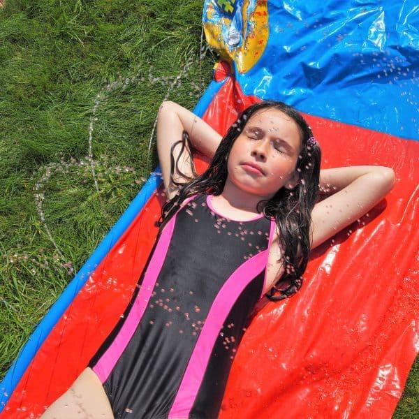 summer holiday fun in the sun
