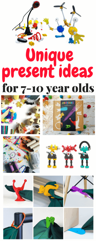 Unique Ideas for Christmas Presents for Children aged 7-10 - Thimble