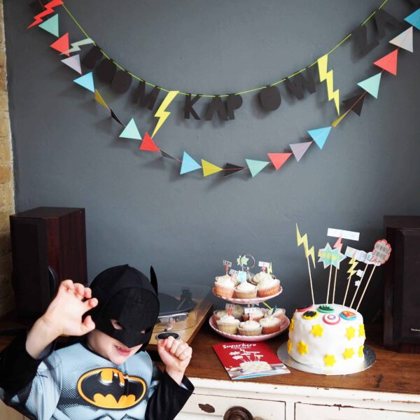 Ideas for a Superhero Party