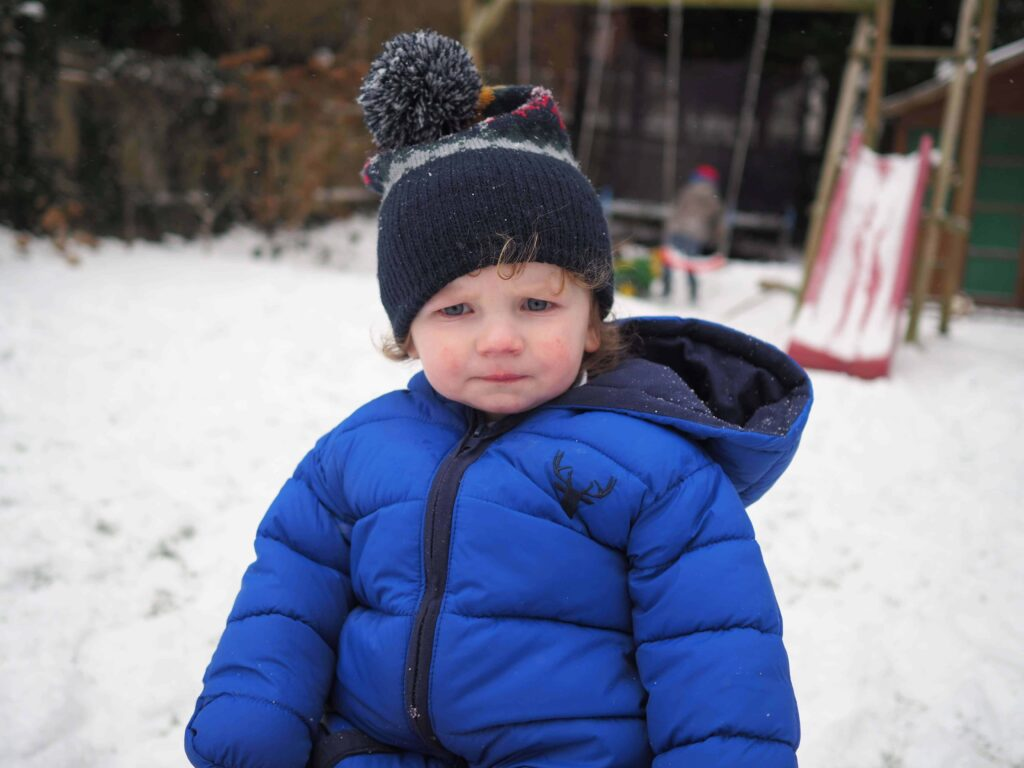 fun things to do in the snow with young children