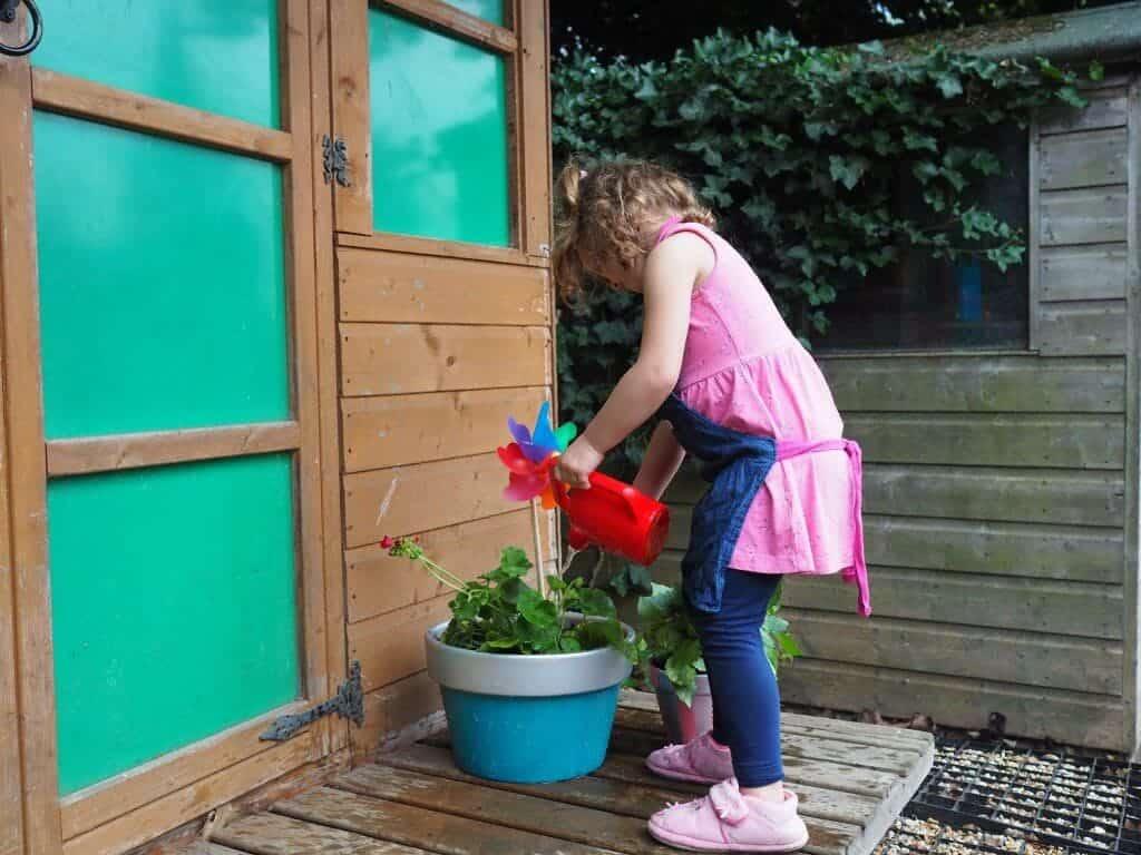 creative family garden