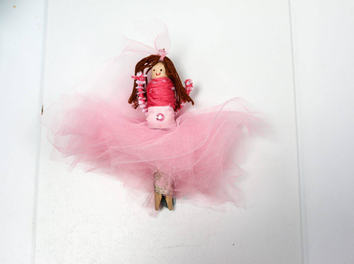 Peg Doll Crafts for Kids