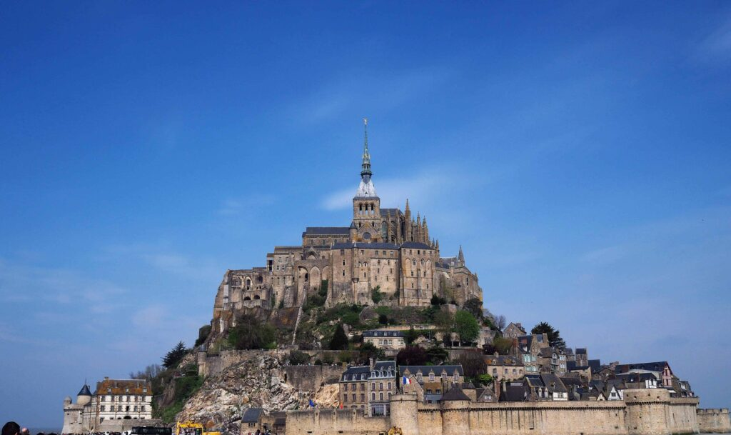 Mont St Michel with kids