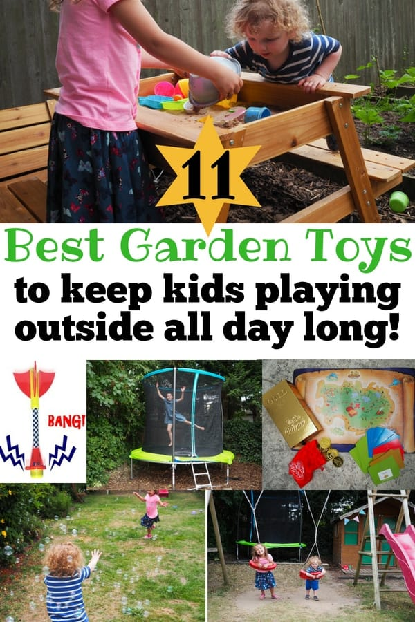 Best garden toys to keep kids playing outside all day long