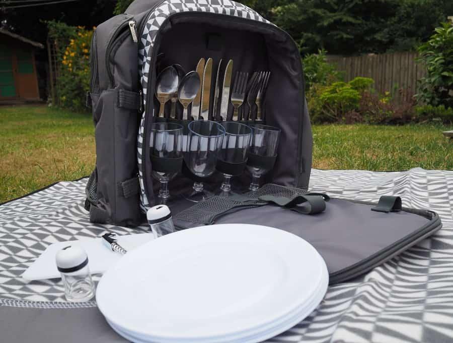 vonshef camping picnic bag