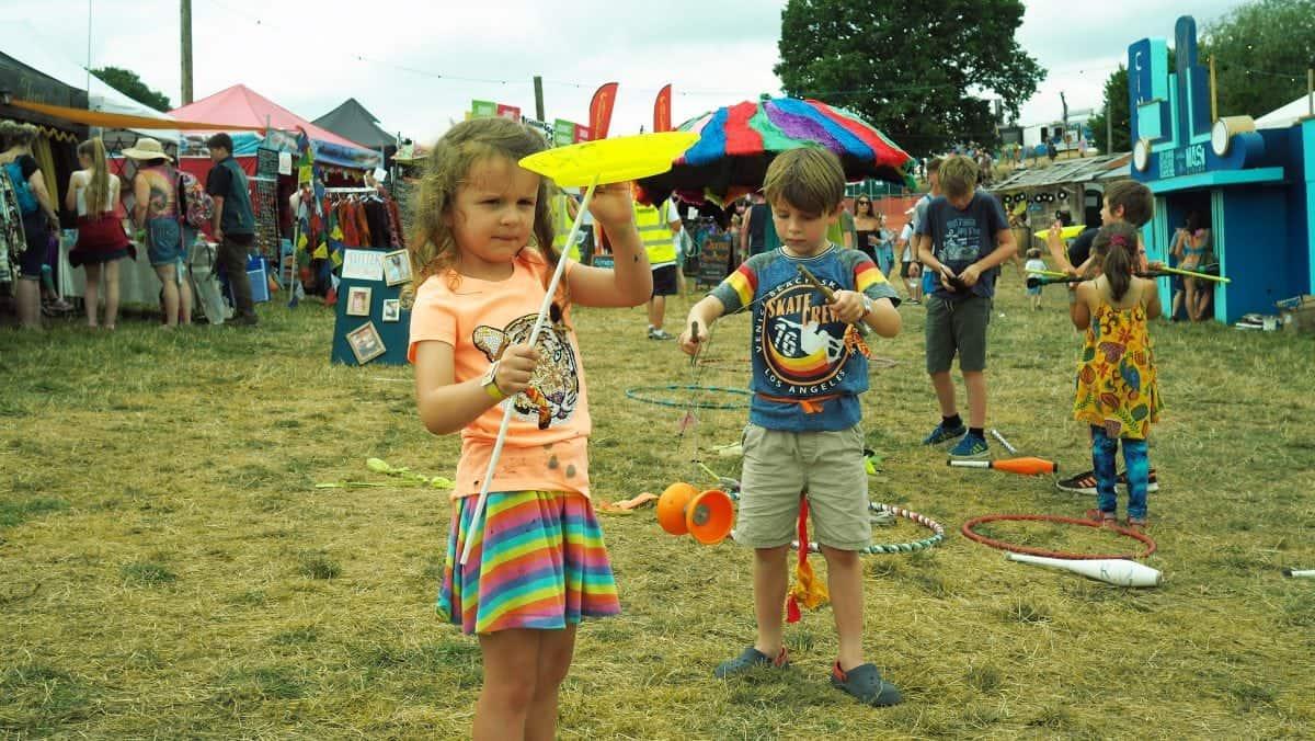 Nozstock family friendly festival