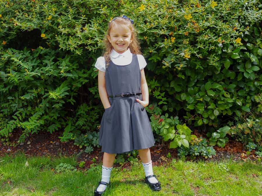 Back To School Uniform Ping With Tesco Thimble And Twig