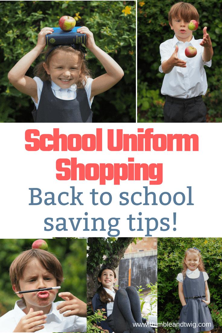 back to school saving shopping tips