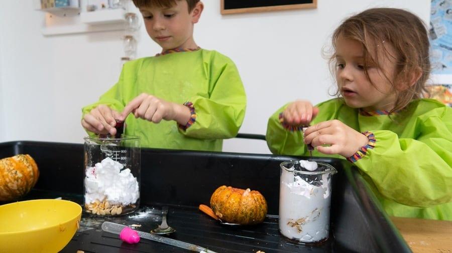 Pumpkin potion Autumn Science Activity