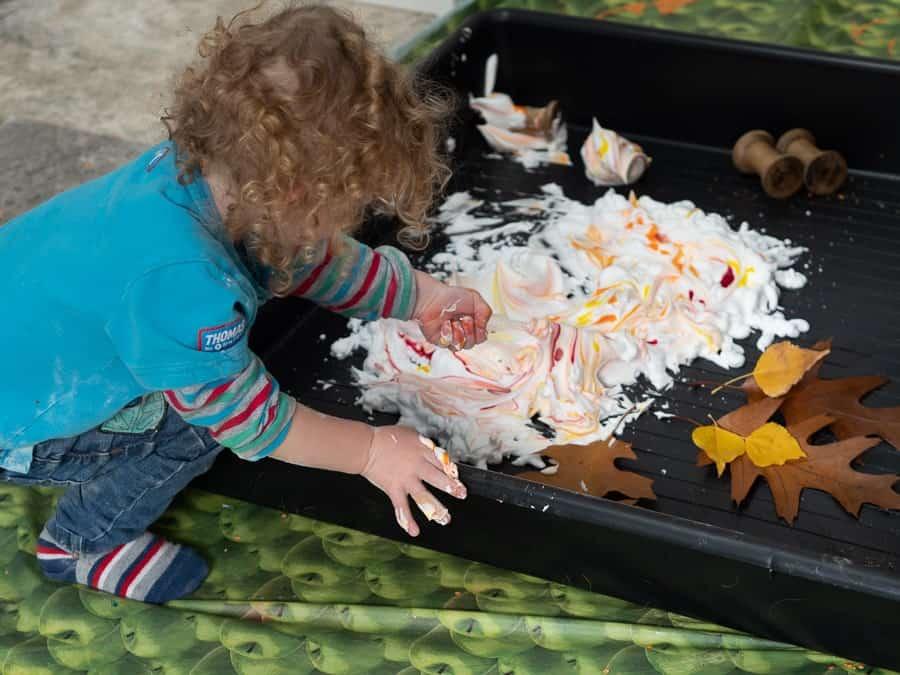 Autumn Sensory Activities