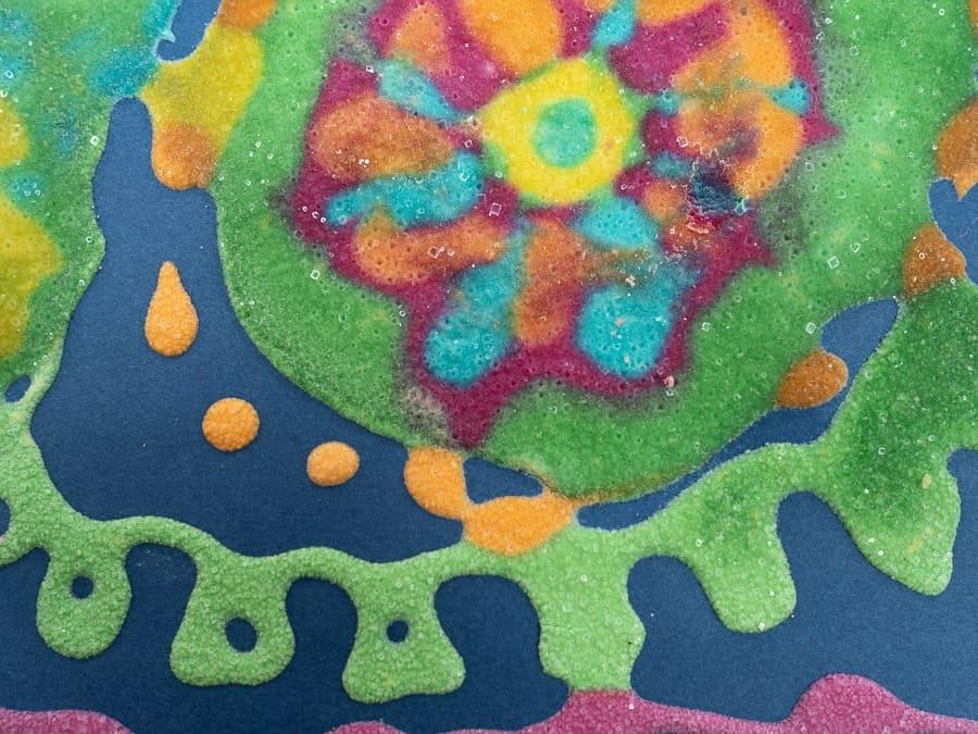 Salt Puffy Paint Craft for Kids