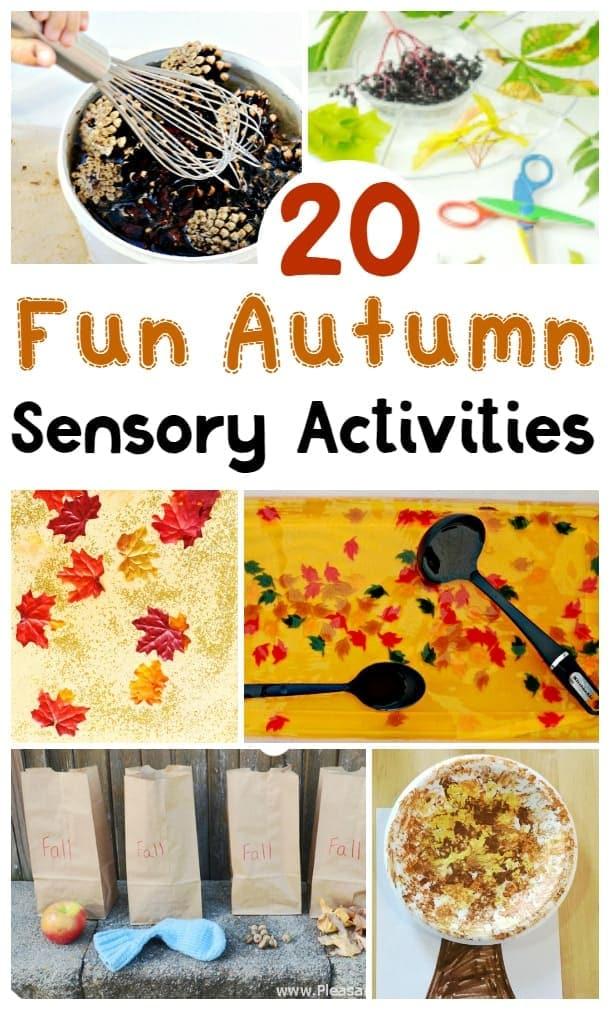 fun autumn sensory activities