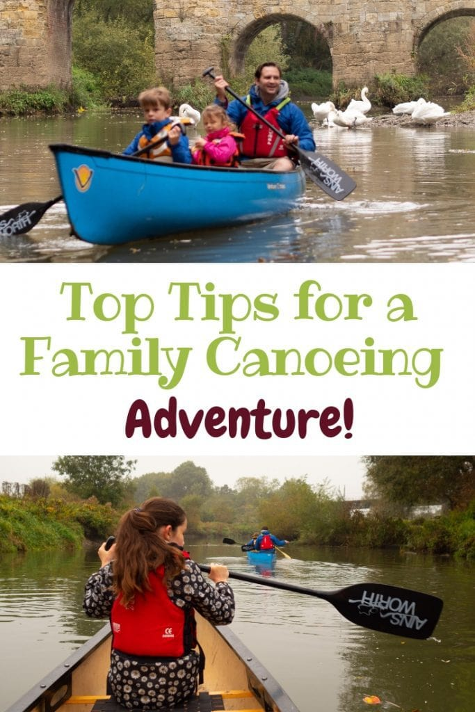 how to have a family canoeing trip