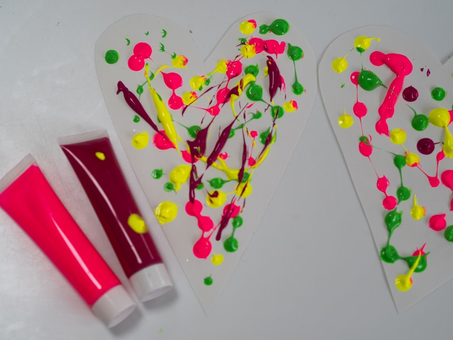 Rain painting craft for kids to make